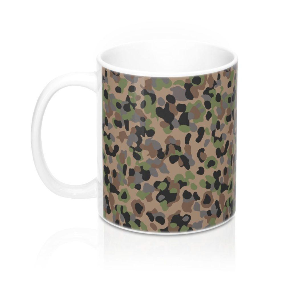 Austrian K4 Kampfanzug 57 Camouflage Mug 11oz