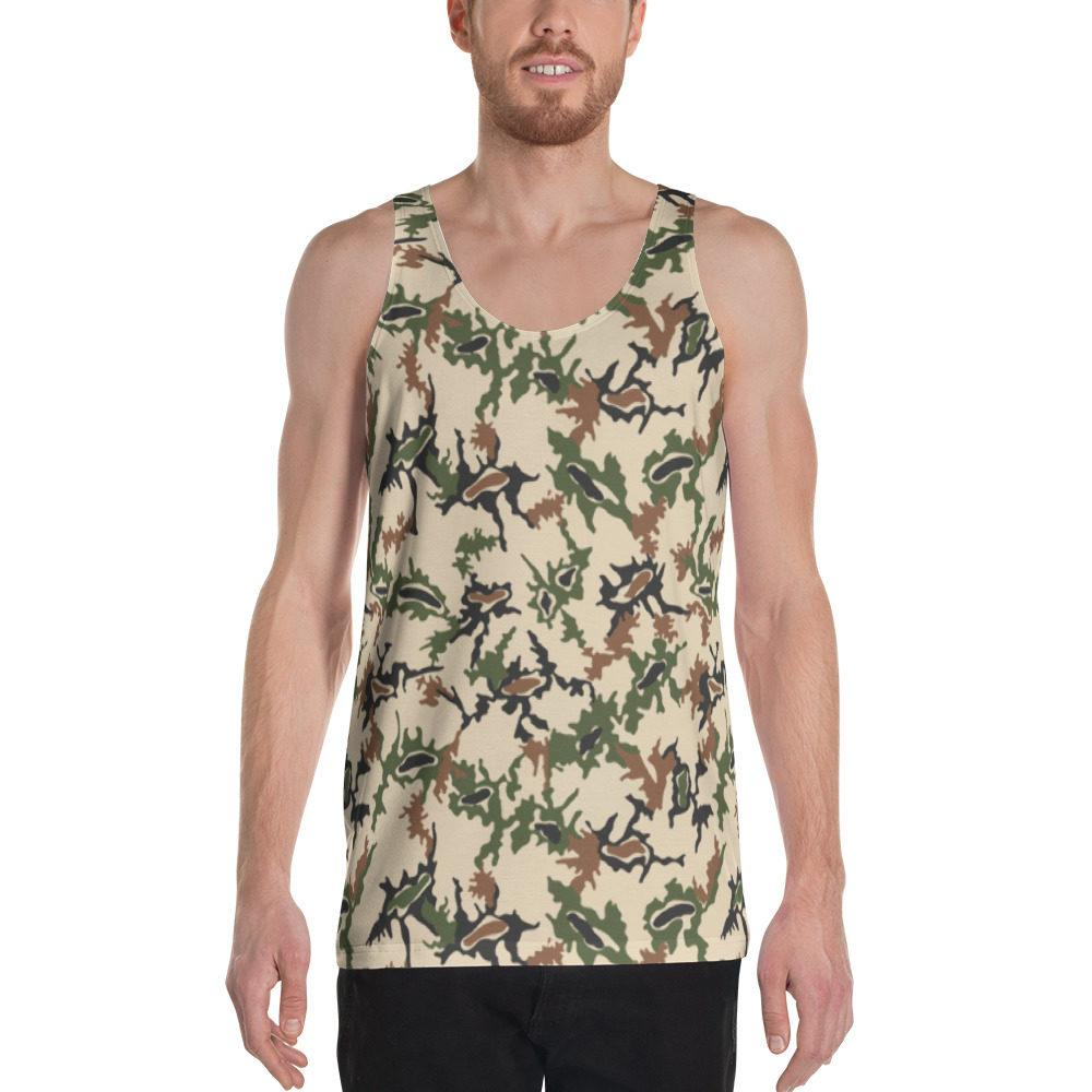 Egyptian Scrambled Eggs Camo Unisex Tank Top