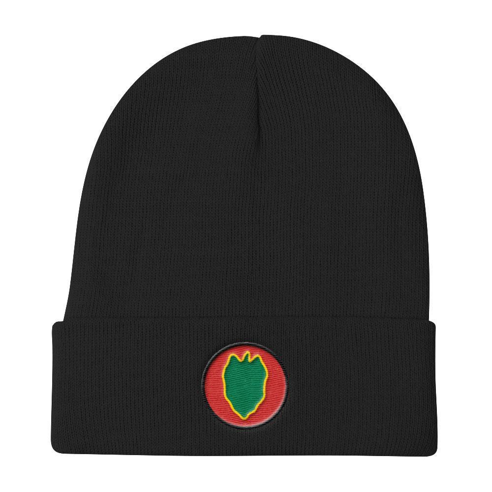 USA 24th Infantry Division Knit Beanie