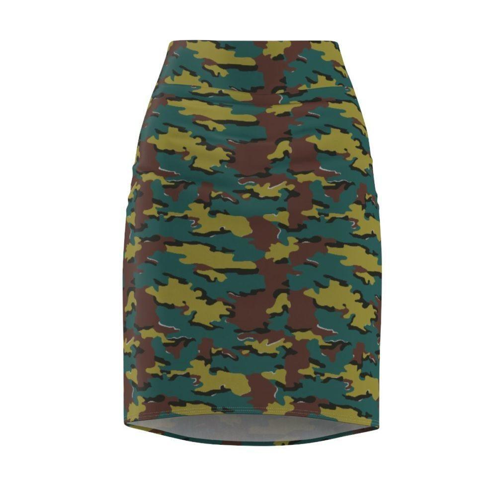 Belgian Jigsaw Pencil Skirt