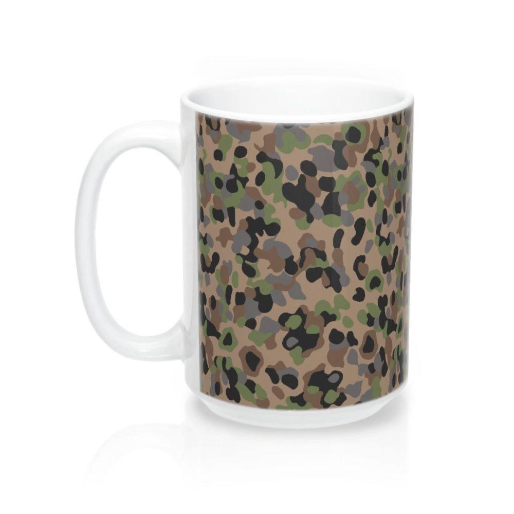 Austrian K4 Kampfanzug 57 Camouflage Mug 15oz