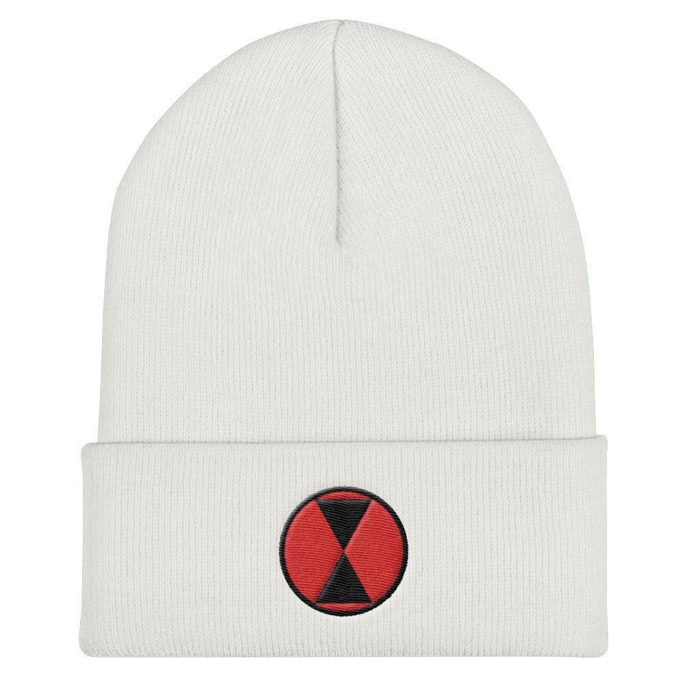 USA 7th Infantry Division Cuffed Beanie