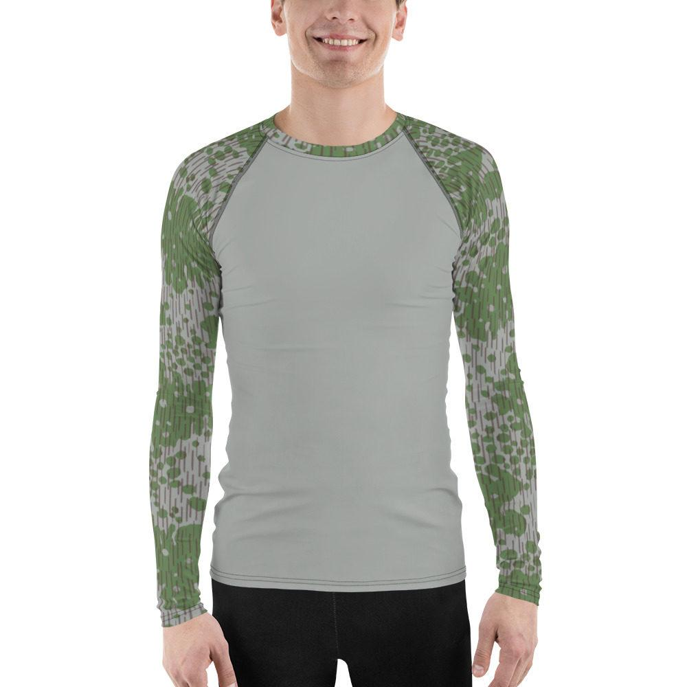 Bulgarian Fogskin 68 UBAC's Style MKII Men's Rash Guard Grey