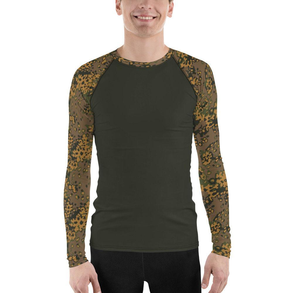 WWII Germany Eichenlaub Fall UBAC's Style Men's Rash Guard MKII Charcoal