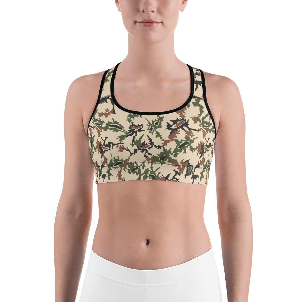 Egyptian 1990's Scrambled Eggs Sports bra