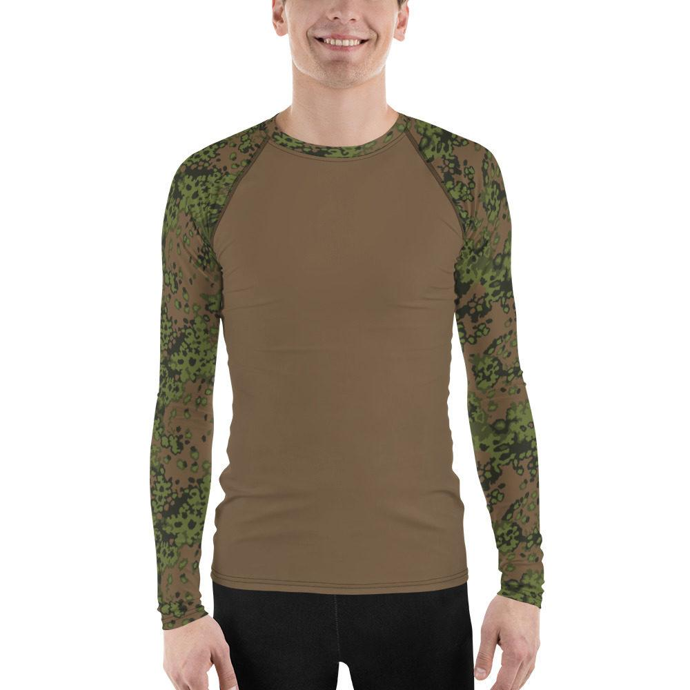 WWII Germany Eichenlaub Spring UBAC's Style Men's Rash Guard MKII Brown