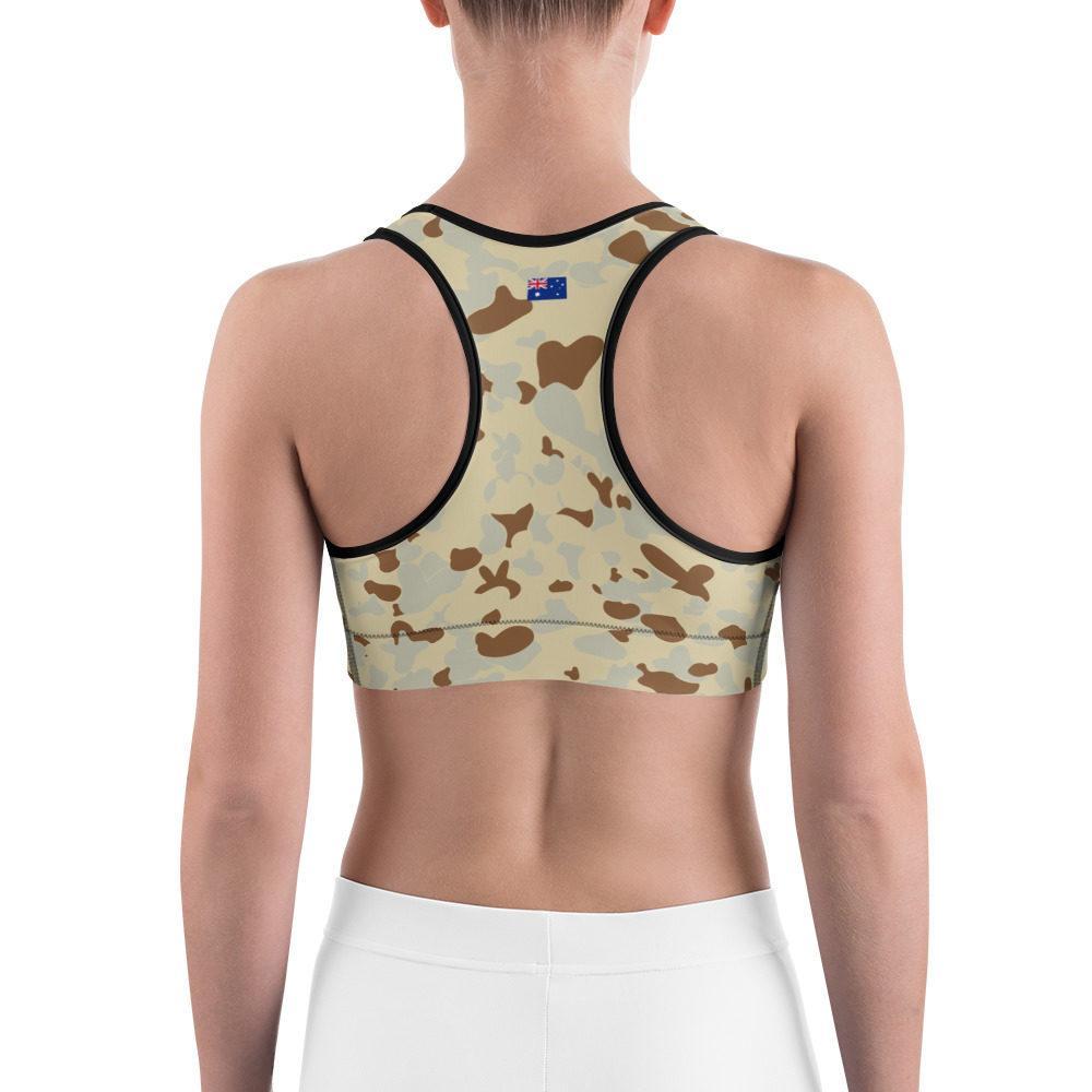 Australian AUSCAM Desert MKI Camouflage Sports bra