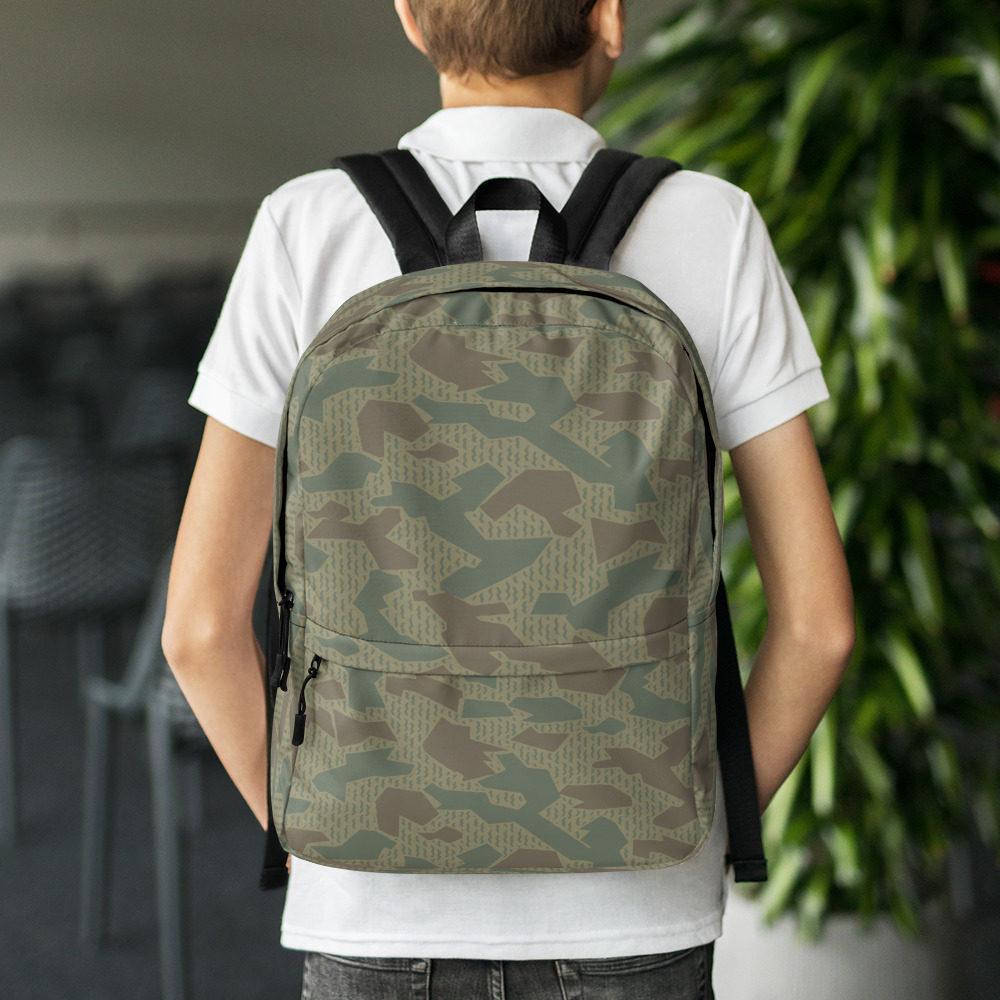 Bulgarian 1979 splinter Camouflage Backpack