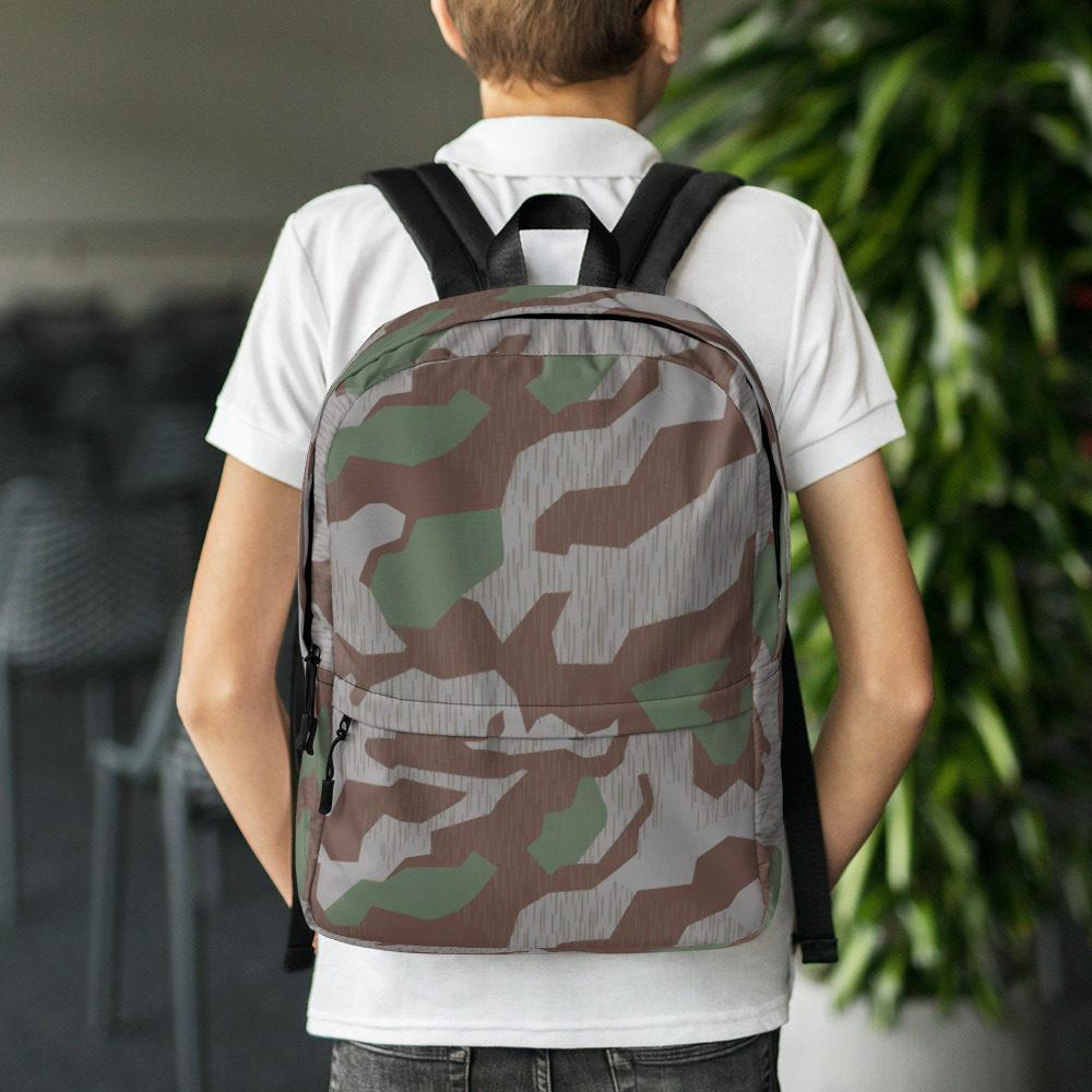 WWII Germany Heeres Splittertarn 41 Camouflage Backpack