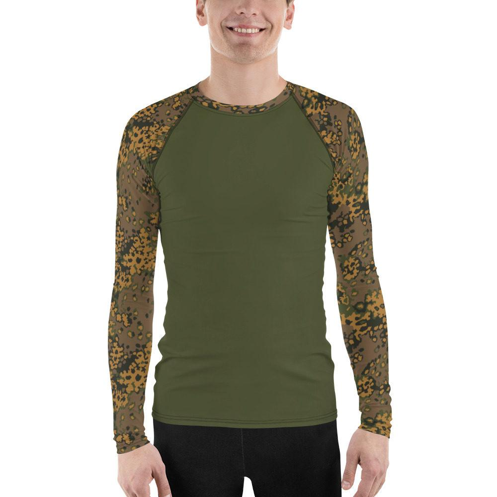 WWII Germany Eichenlaub Fall UBAC's Style Men's Rash Guard MKII Green