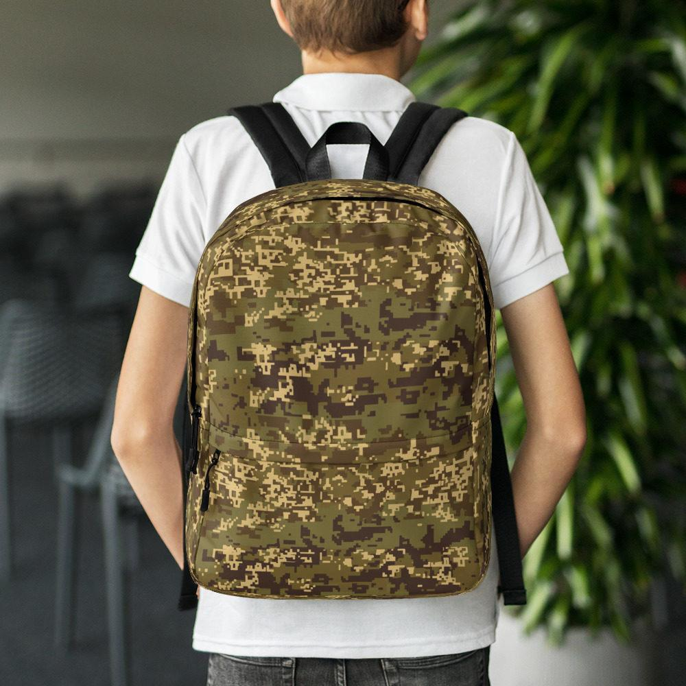 Austrian Jagdkommando Pixeltarnung Temperate Camouflage Backpack