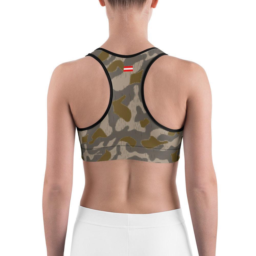 Austrian Steintarn early type Camouflage Sports bra