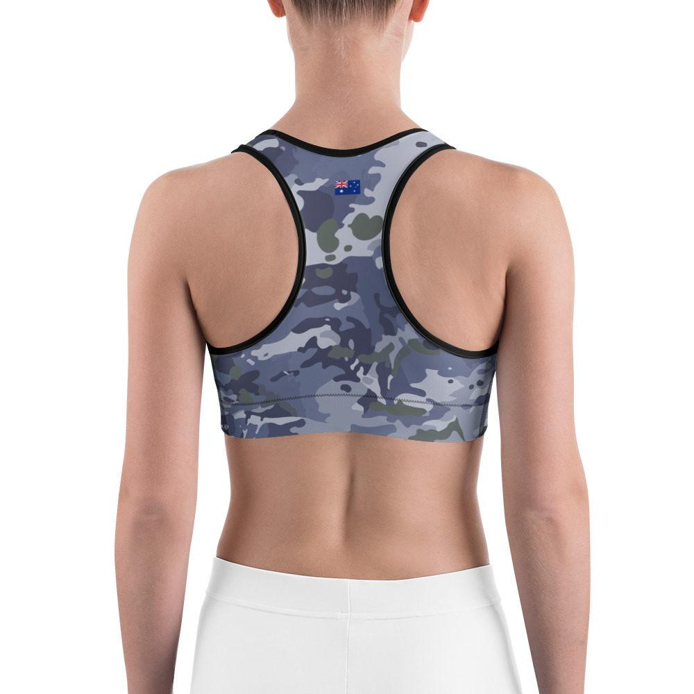 Australian RAAF GPU Camouflage Sports bra