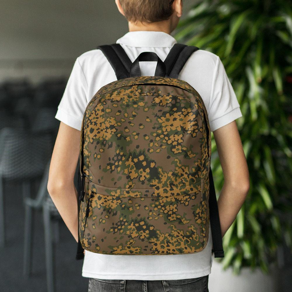 WWII Germany Eichenlaub Fall Camouflage Backpack