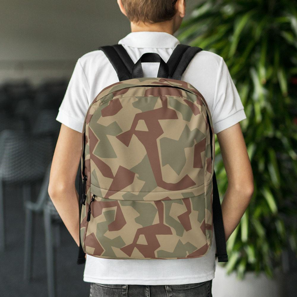 Bulgarian 1946 splinter Camouflage Backpack