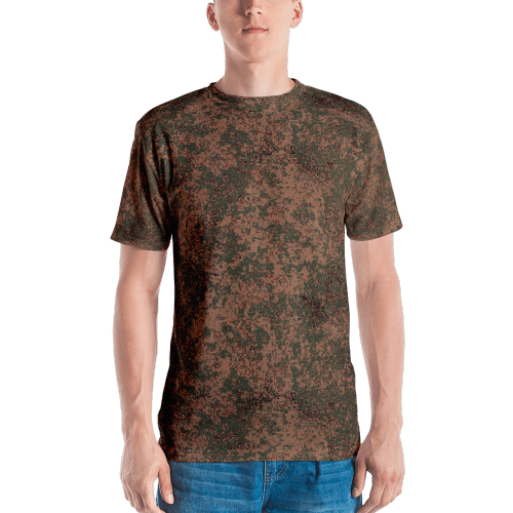 Russian 2008 EMR Digital Flora Airborne Camouflage Men's T-shirt