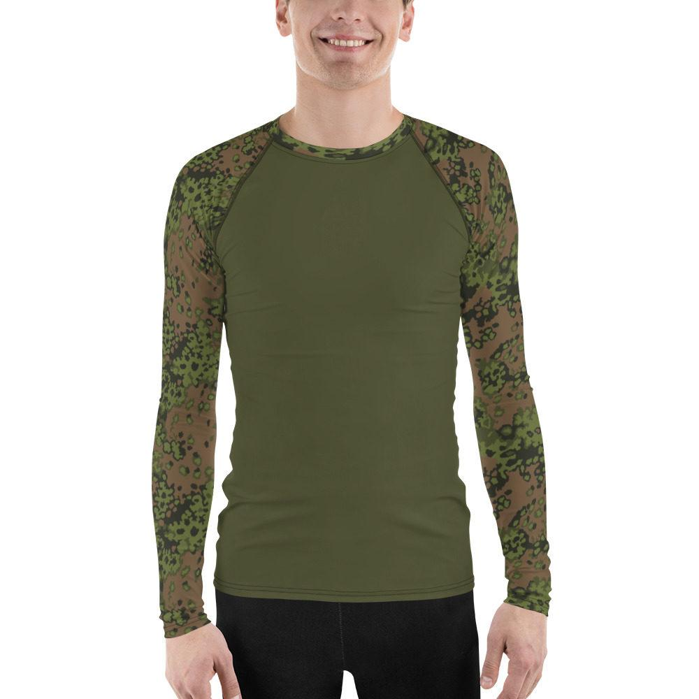 WWII Germany Eichenlaub Spring UBAC's Style Men's Rash Guard MKII Dark Green