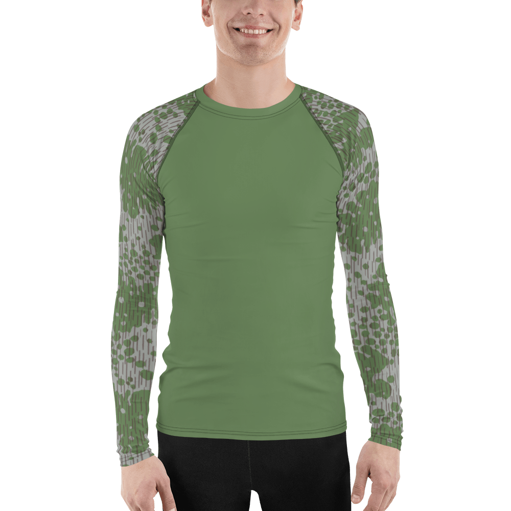 Bulgarian Frogskin 68 UBACS style Men's Rash Guard Green