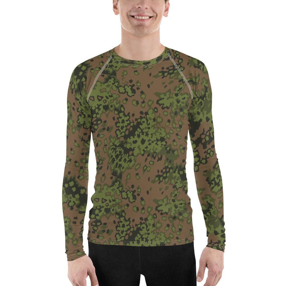 WWII Germany Eichenlaub Spring Men's Rash Guard