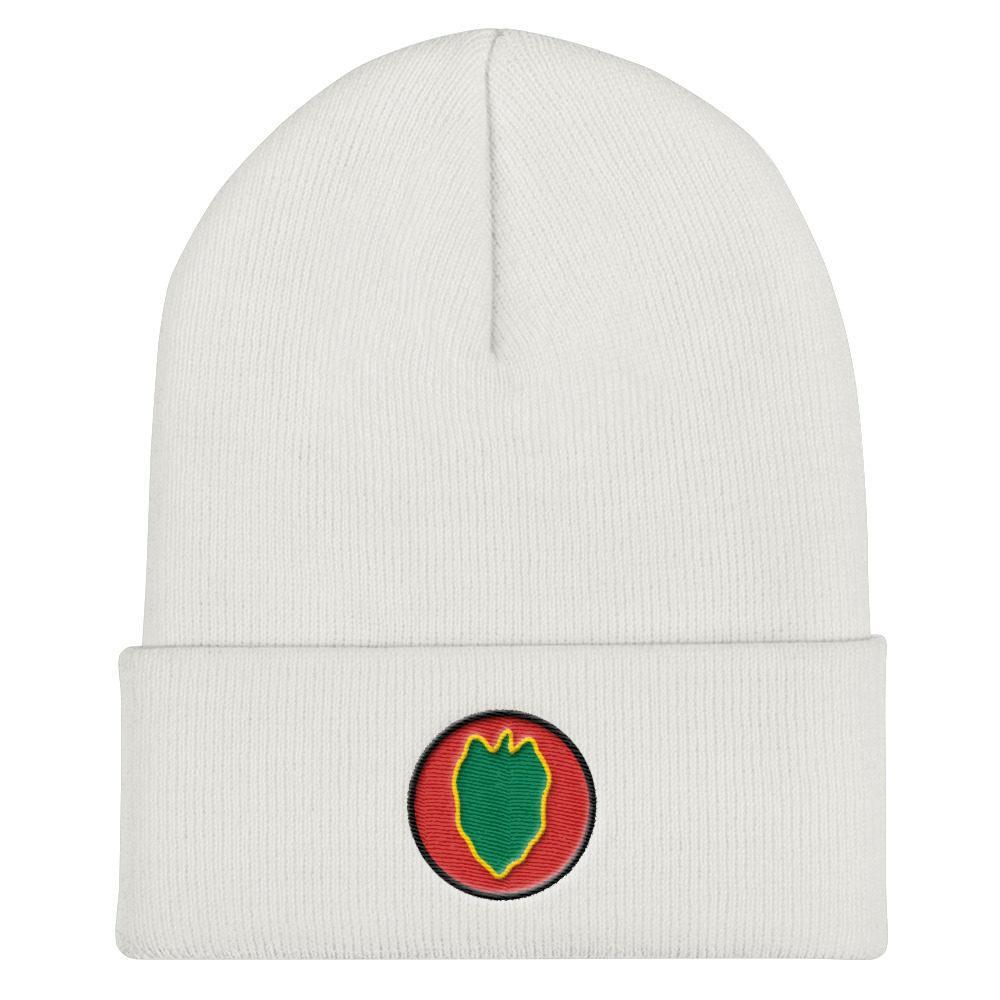 USA 24th Infantry Division Cuffed Beanie