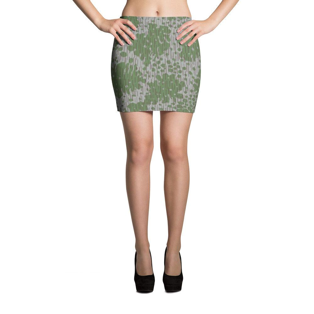 Bulgarian Frogskin 68 Mini Skirt