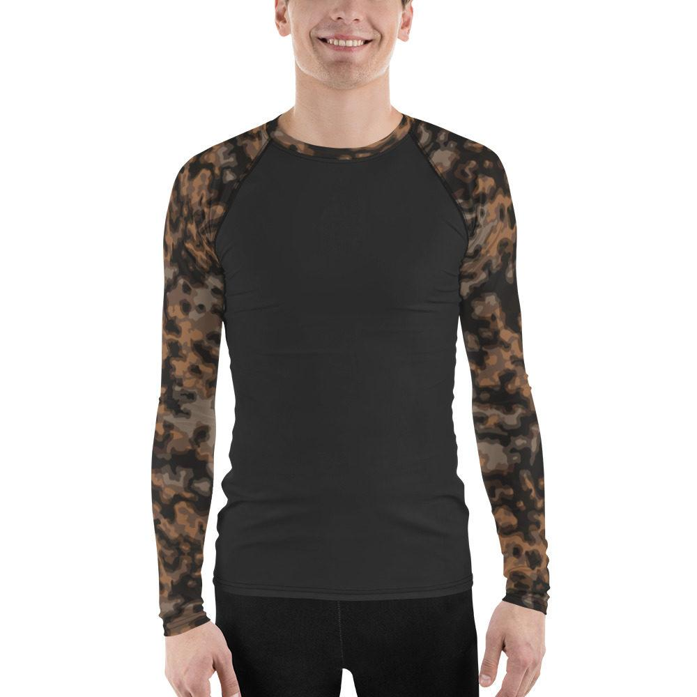 WWII Germany Rauchtarn Fall UBAC's Style Men's Rash Guard MKII Charcoal