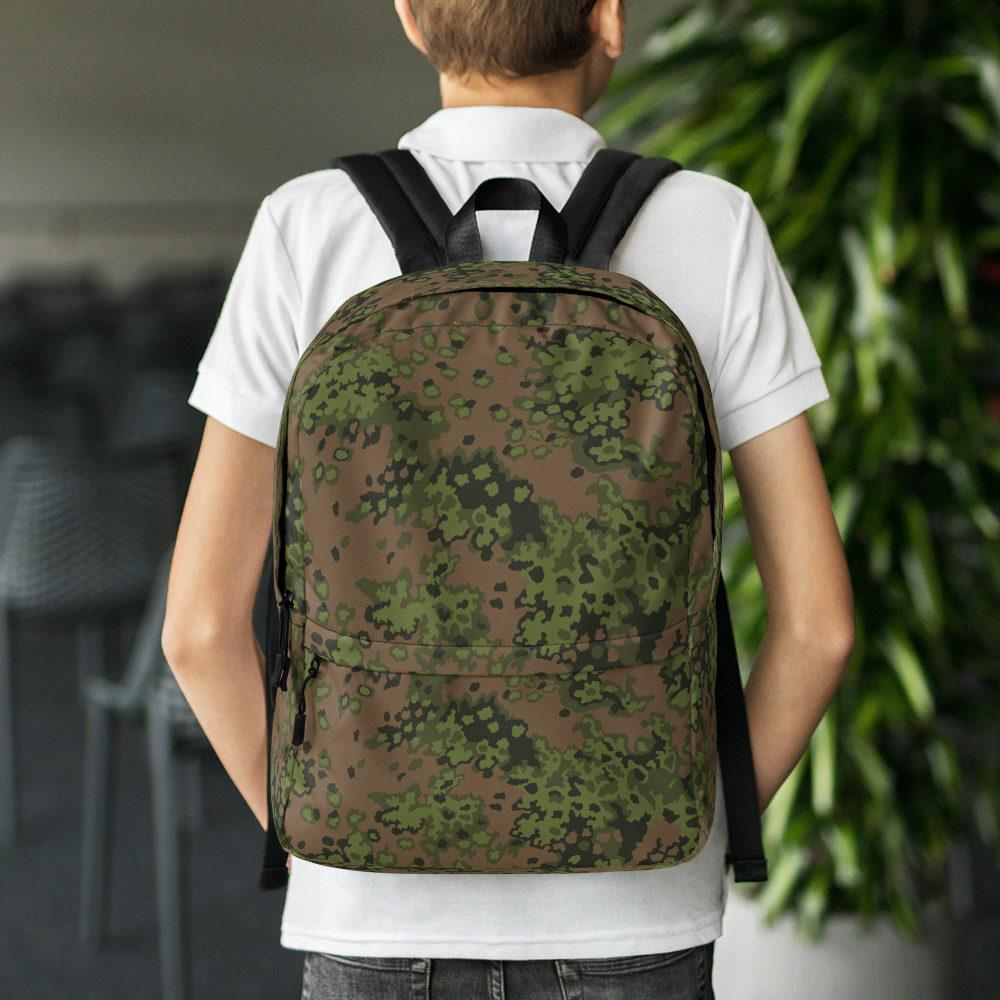 WWII Germany Eichenlaub Spring Camouflage Backpack