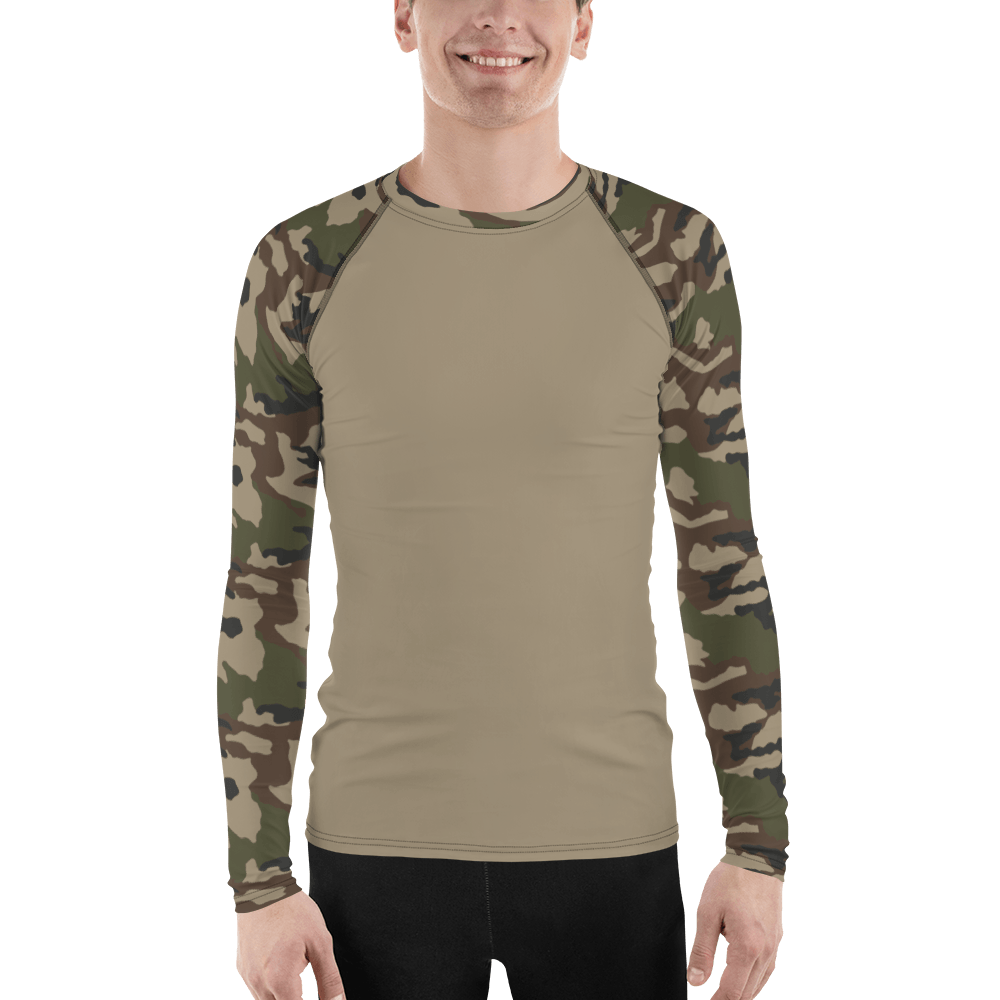 French CCE Centre Europe UBAC's Style Men's Rash Guard MKII Sand