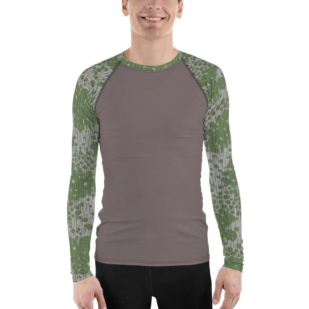 Bulgarian Fogskin 68 UBAC's Style MKII Men's Rash Guard Mud