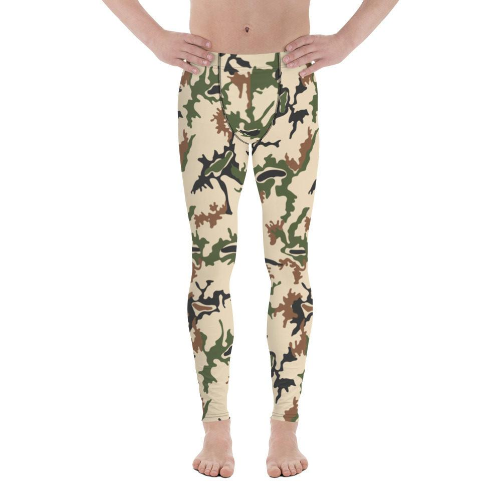 Egyptian Scrambled Eggs Camo Men's Leggings