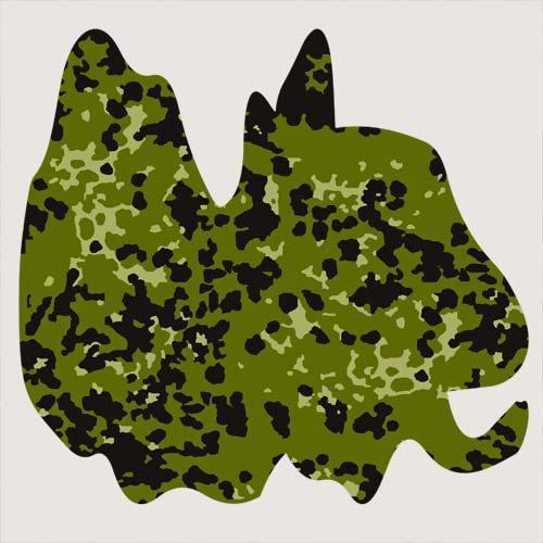 Danish M84 camouflage woods pattern