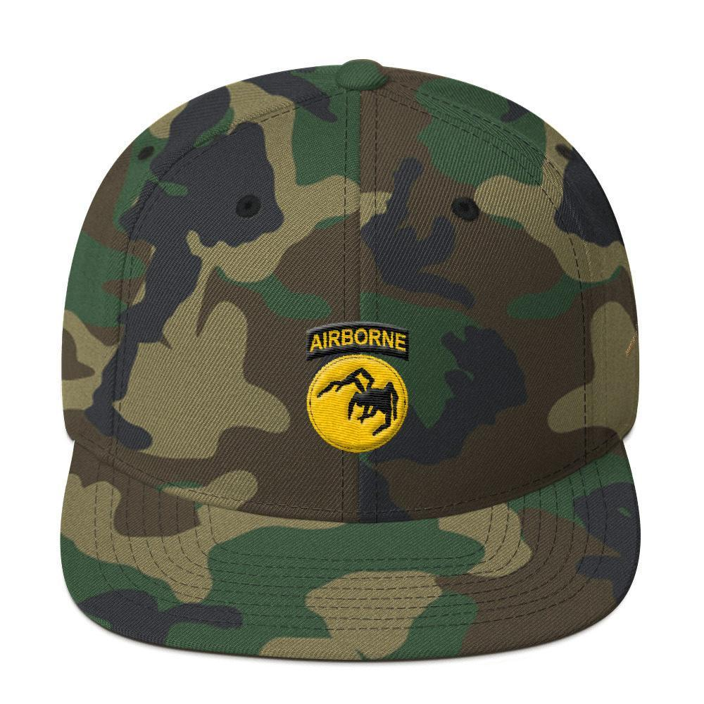 USA 135th Airborne Division Snapback Hat