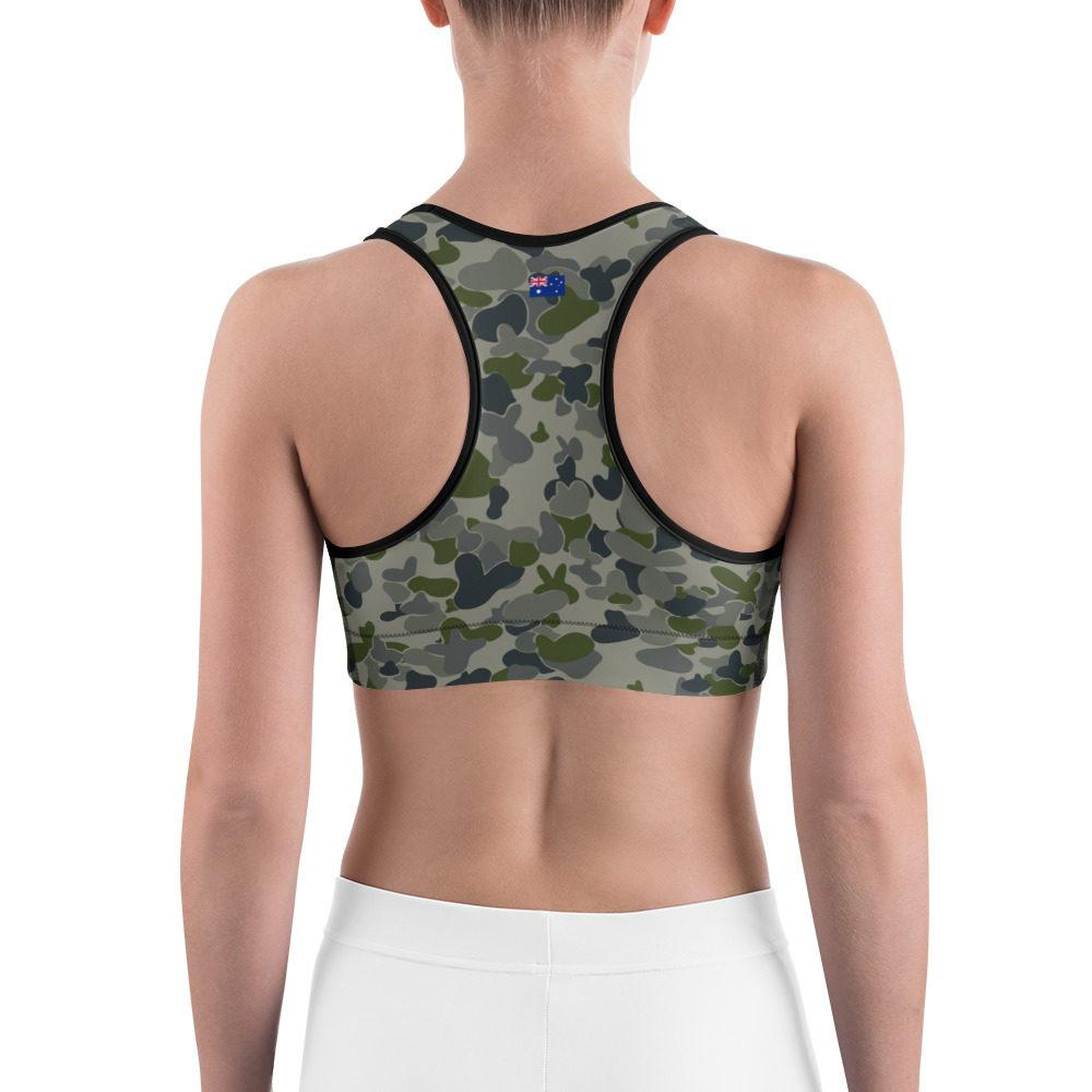 Australian AUSCAM DPNU Camouflage Sports bra