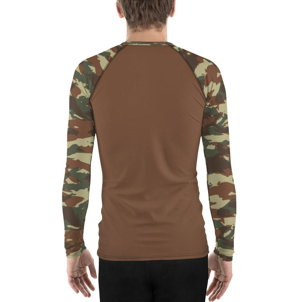 French Lizard A1 UBAC's Men's Rash Guard MKII Brown