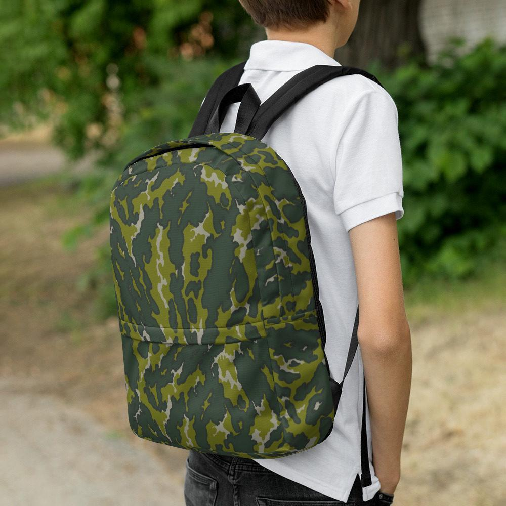 mockup 2d2278f3 - Russian VSR 3-TsV Experimental Dubok 2nd Pattern Camouflage Backpack