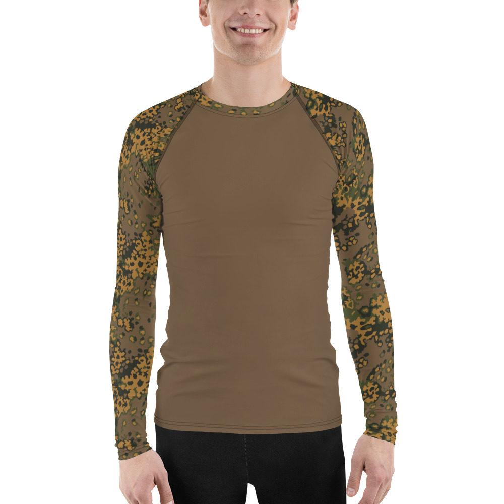 WWII Germany Eichenlaub Fall UBAC's Style Men's Rash Guard MKII brown