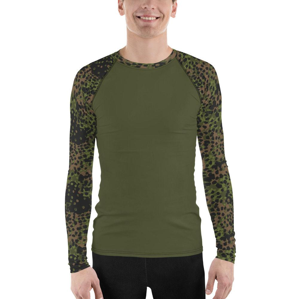 WWII Germany Platanenmuster spring UBAC's Style Men's Rash Guard MKII dark green