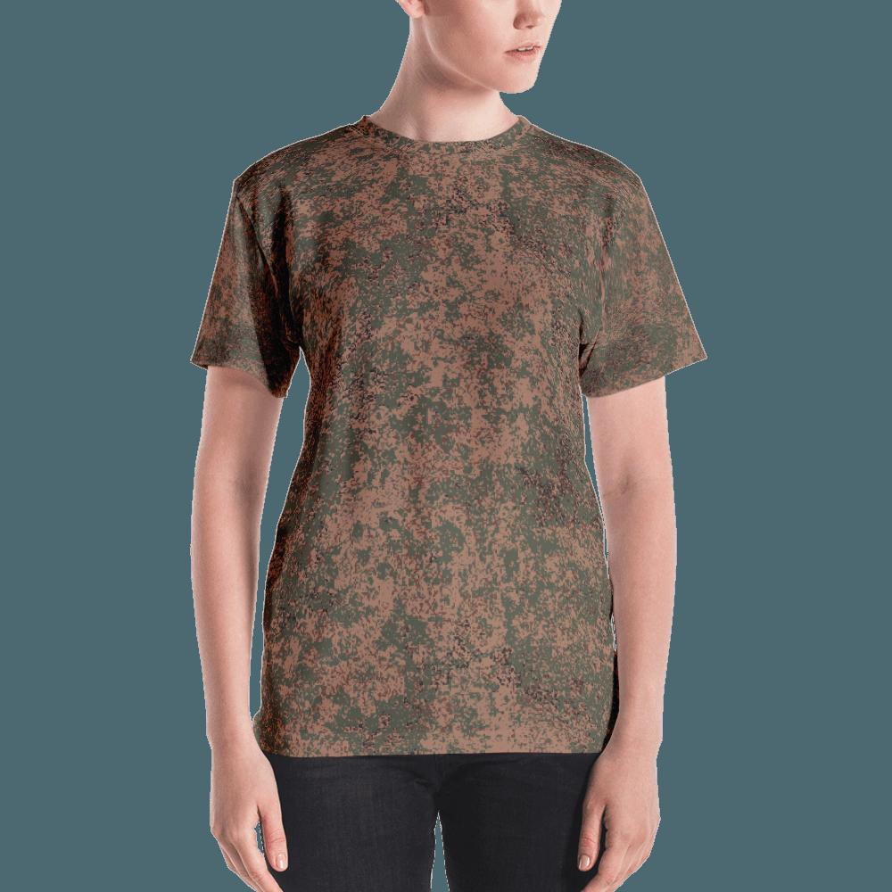 Russian 2008 EMR Digital Flora Airborne Camouflage Women's T-shirt