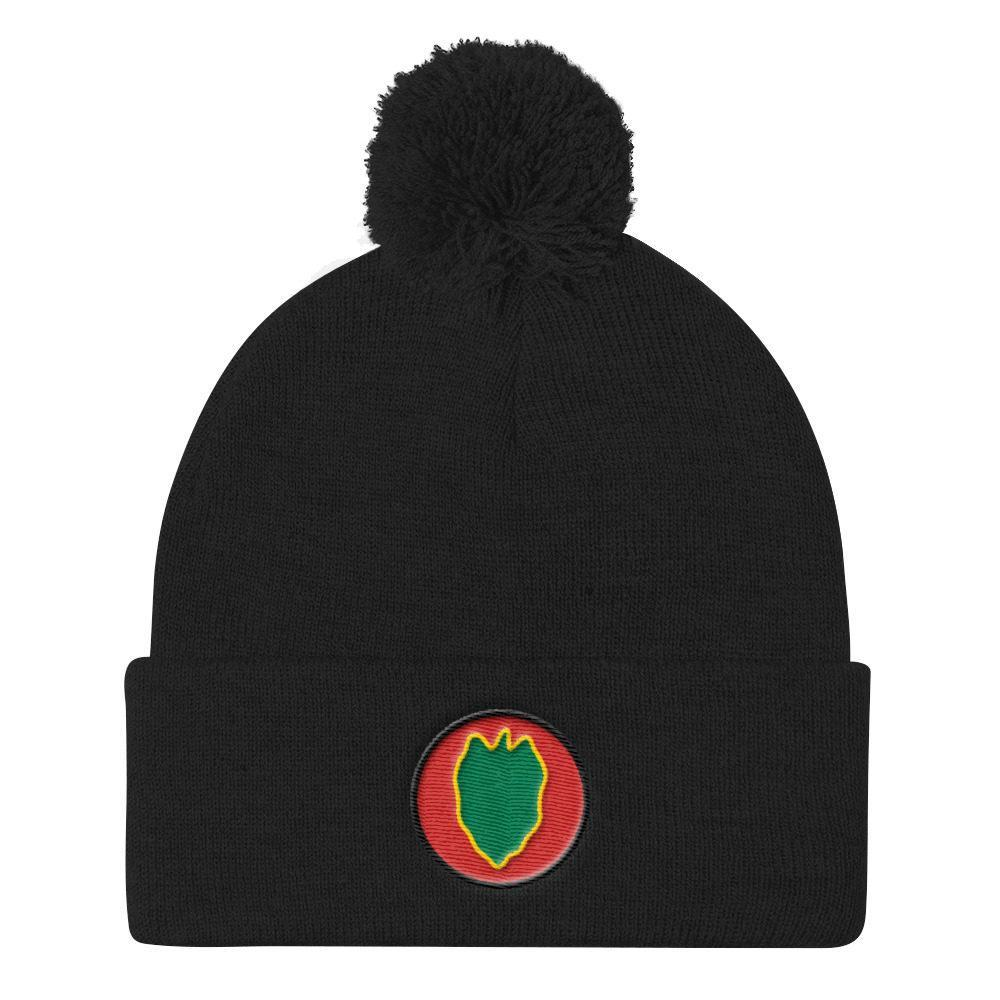 USA 24th Infantry Division Pom Pom Knit Cap