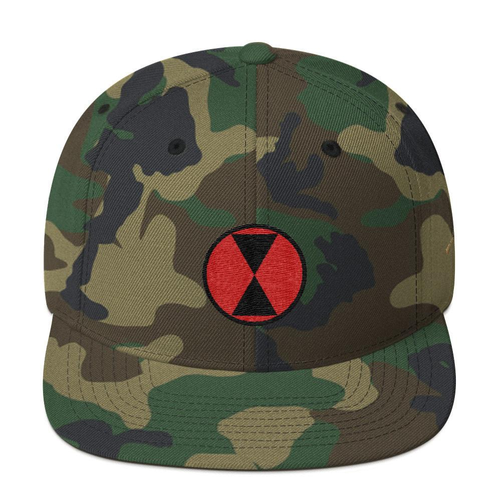 USA 7th Infantry Division Snapback Hat