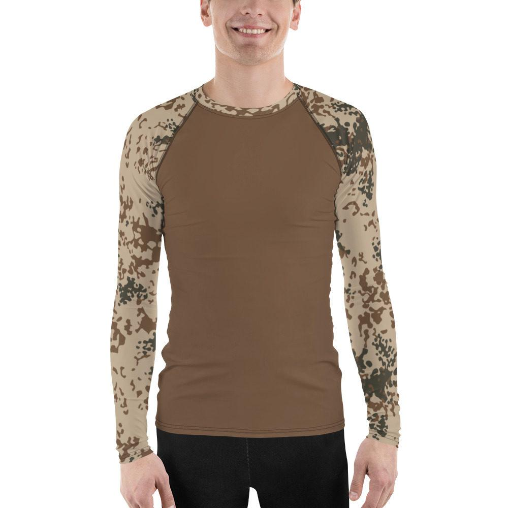 German Troppentarn UBAC's Style Men's Rash Guard MKII Brown