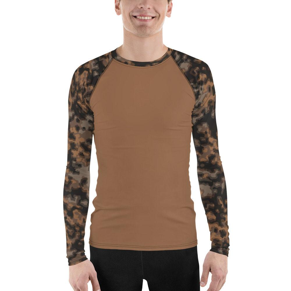 WWII Germany Rauchtarn Fall UBAC's Men's Rash Guard MKII Orange-Tan