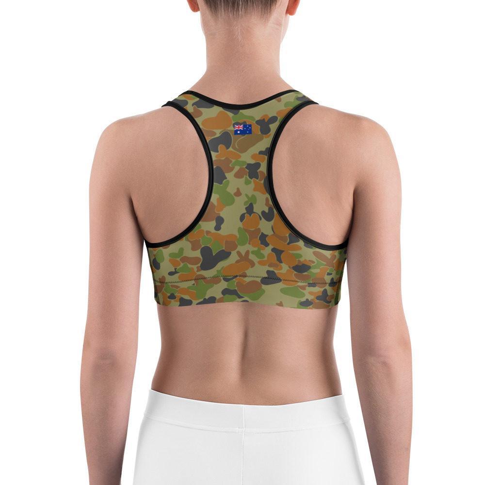 Australian AUSCAM DPCU Camouflage Sports bra