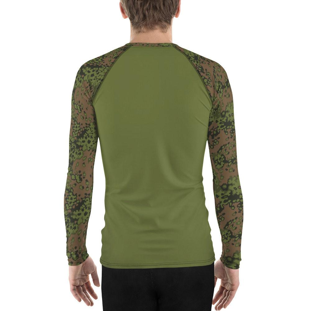mockup 6a493259 - WWII Germany Eichenlaub Spring UBAC's Style Men's Rash Guard MKII Light Green