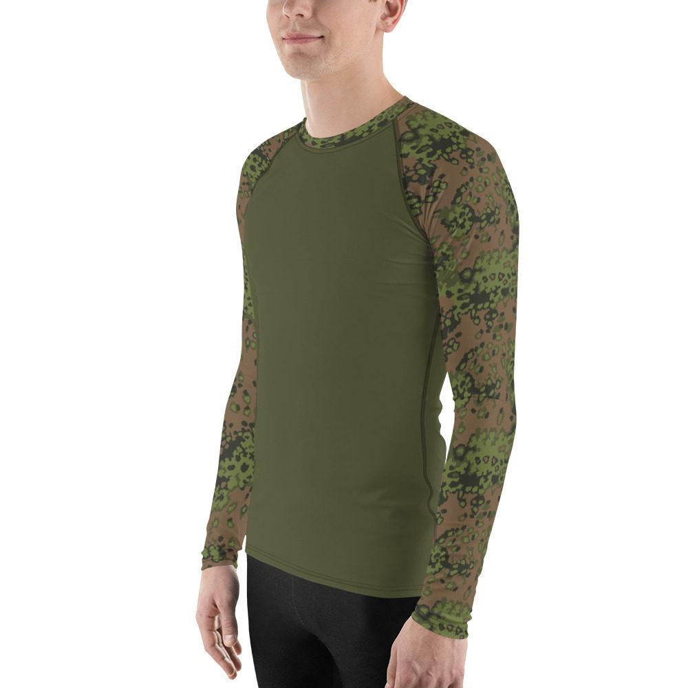 mockup 6da3e293 - WWII Germany Eichenlaub Spring UBAC's Style Men's Rash Guard MKII Dark Green