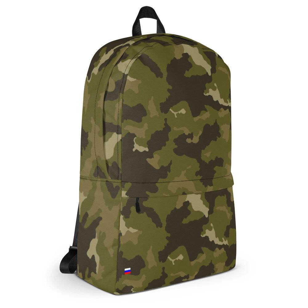 mockup 6eb37094 - Russian 90's MVD Type 2 Spetsnaz Woodland SMK Camouflage Backpack