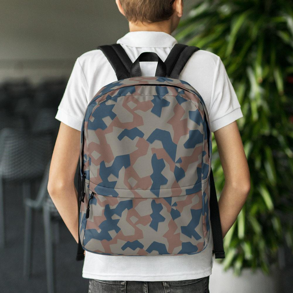 Bulgarian 1951 splinter Camouflage Backpack