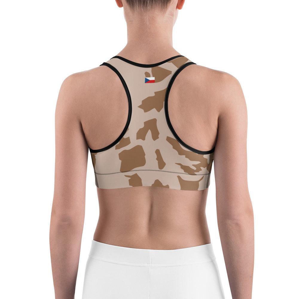 Czech Vz 85 Desert Camouflage Sports bra