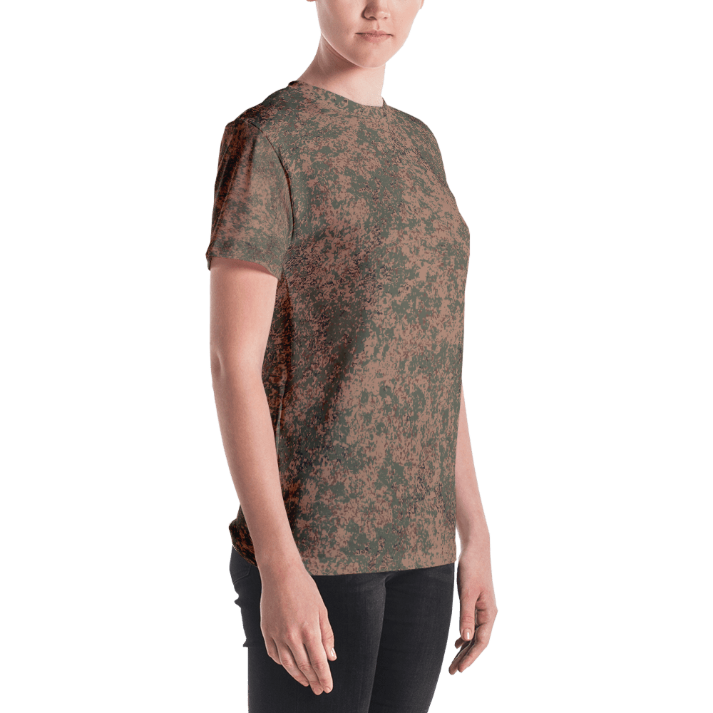mockup 82c834c6 - Russian 2008 EMR Digital Flora Airborne Camouflage Women's T-shirt