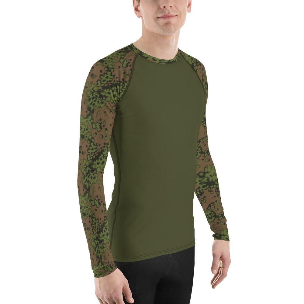 mockup 83a0ec69 - WWII Germany Eichenlaub Spring UBAC's Style Men's Rash Guard MKII Dark Green